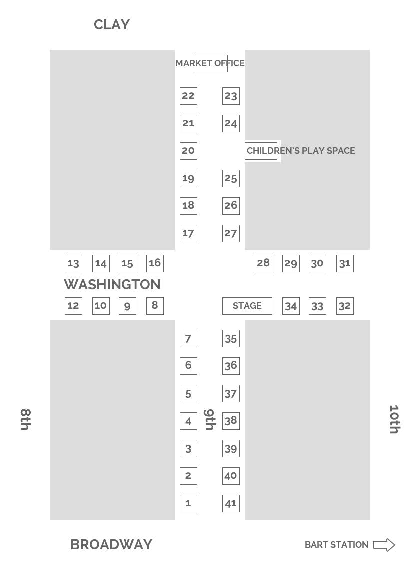 Vendor Location Map